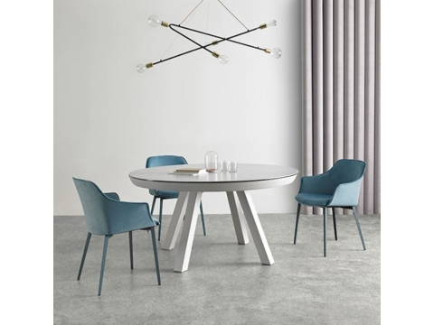 Table Ronde Table ExtensibleElsaMeubles Percheron Ronde ExtensibleElsaMeubles Percheron UMpqVSz