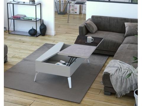 Table de salon, modèle 10 H 10 | Meubles PERCHERON