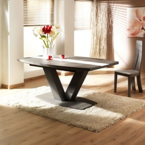 table oxalide pied central