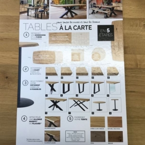 table à la carte